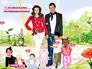 Angelina and Brad dressup online