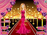 Barbie dress for party online öltöztetős játék