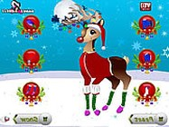Christmas reindeer dress up online