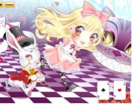 Cute Alice in wonderland �lt�ztet�s j�t�kok