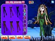 Monster High dolls dress up makeover ingyen játék