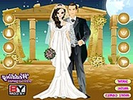 Moonlight Wedding Dress Up online öltöztetős játék